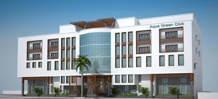 Aqua Green Hotels & Resorts Property View