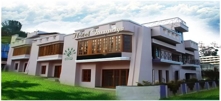 Hotel Gurupriya Property View