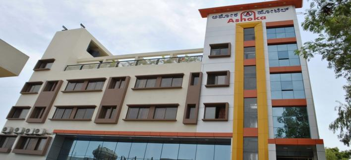 Hotel Ashoka Property View