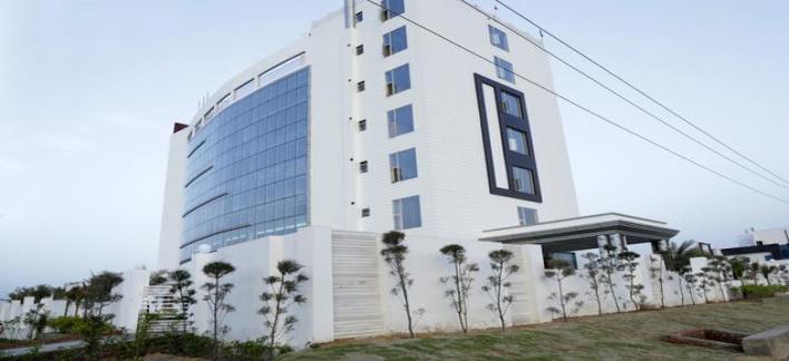 Hotel Aju Palace Property View