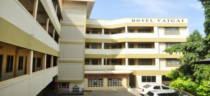 Hotel Vaigai Property View
