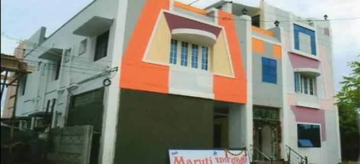 Sri Maruti Pilgrims House Property View