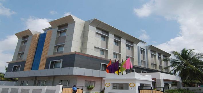 Hotel Vinayaga Property View