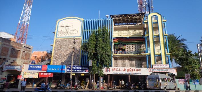 Hotel Sri Rama Property View