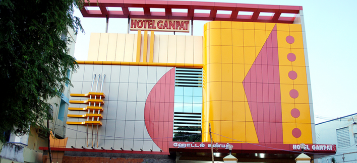 Hotel Ganpat Property View