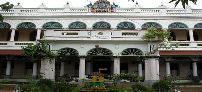 Chettinadu Mansion Property View
