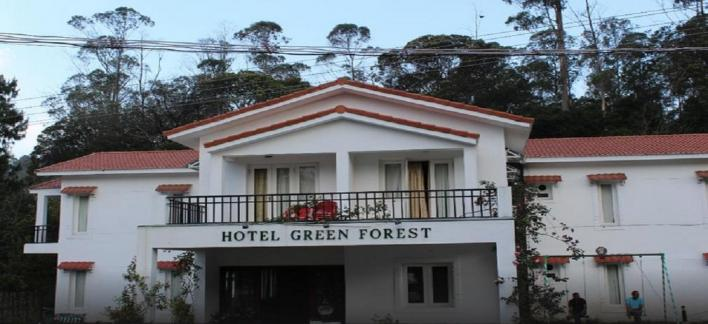 Hotel Green Forest Resort Property View