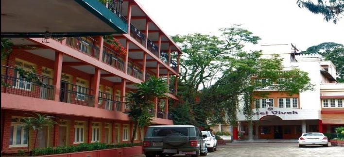 Vivek Hotel Property View