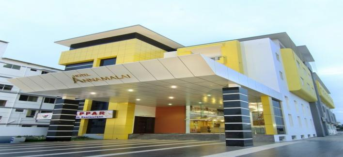 Hotel Annamalai International Property View