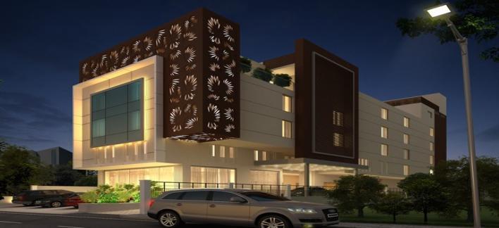 Hotel Himalayaa Property View