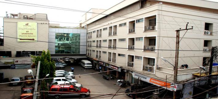 Hotel Rajdhani Property View
